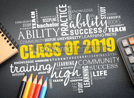 Business: CLASS OF 2019 word cloud collage #09750