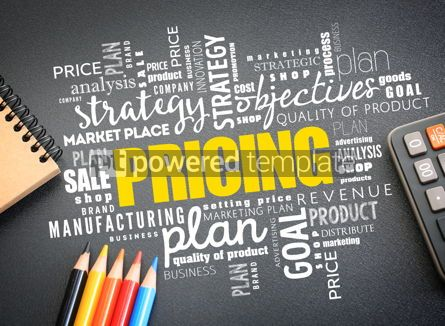 Business: Pricing word cloud collage business concept #09759