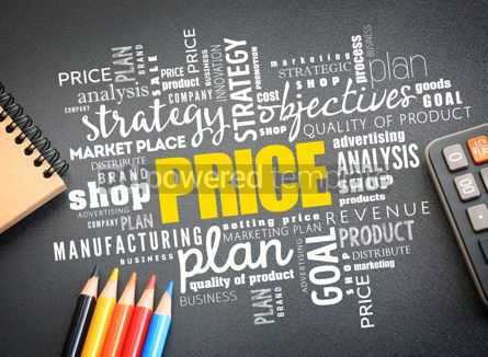 Business: PRICE word cloud collage business concept #09760