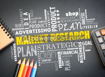 Business: Market research word cloud collage #09762
