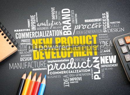Business: New product development word cloud collage #09767