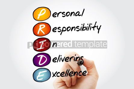 Business: PRIDE - Personal Responsibility In Delivering Excellence acrony #09842