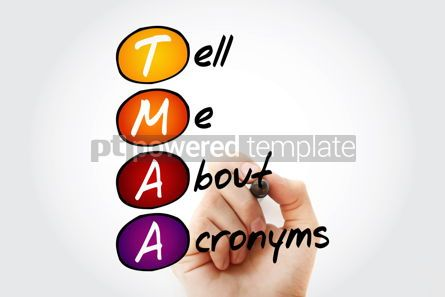 Business: TMAA - Tell Me About Acronyms acronym concept #09845
