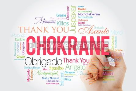 Business: Chokrane (Thank You in Arabic - Middle East North Africa) Word  #09960