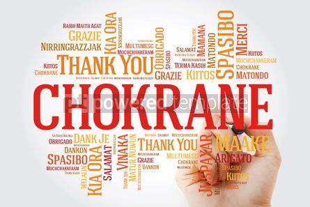 Business: Chokrane (Thank You in Arabic - Middle East North Africa) Word  #09961