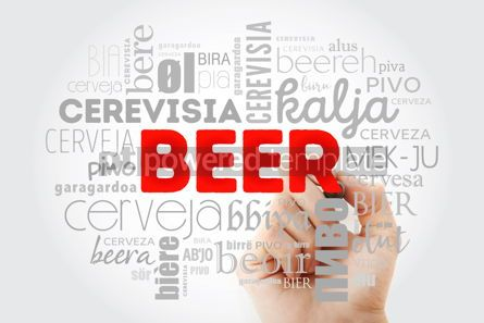 Food & Drink: BEER in different languages of the world (english french germa #09983