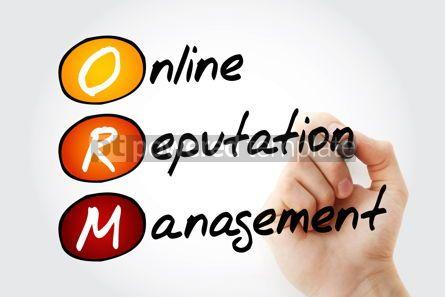 Business: ORM - Online Reputation Management acronym business concept bac #10090