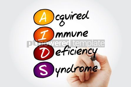Education: AIDS - Acquired Immune Deficiency Syndrome acronym health conce #10095