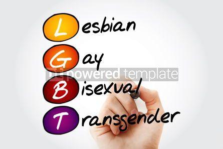 Education: LGBT - lesbian gay bisexual transgender acronym concept back #10099