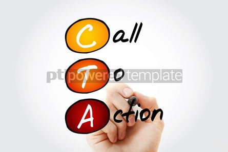 Business: CTA - Call To Action acronym business concept background