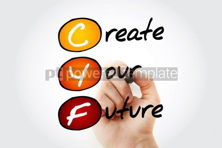 Business: CYF - Create Your Future acronym concept background #10121