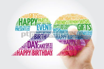 Education: Happy 29th birthday word cloud collage #10126