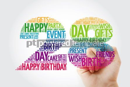 Education: Happy 28th birthday word cloud collage #10128