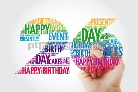 Education: Happy 26th birthday word cloud collage #10130