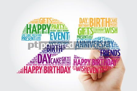 Education: Happy 25th birthday word cloud collage #10131