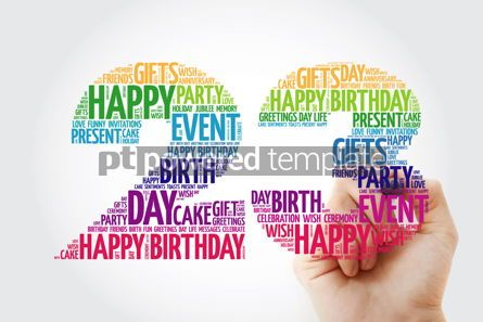 Education: Happy 23rd birthday word cloud collage #10133