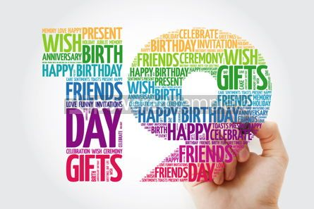 Education: Happy 19th birthday word cloud collage #10136