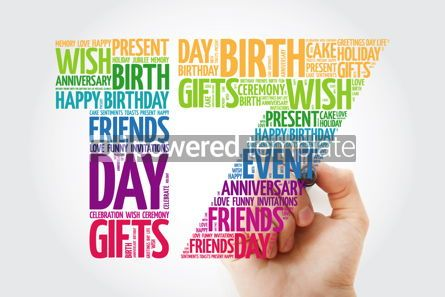 Education: Happy 17th birthday word cloud collage #10138
