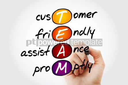 Business: TEAM - Customer Friendly Assistance Promptly acronym busines #10526