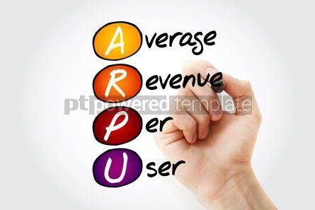Business: Hand writing ARPU - Average Revenue Per User with marker acrony #10549