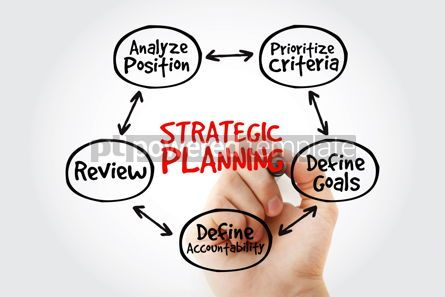 Business: Strategic Planning mind map with marker business concept for pr #10591
