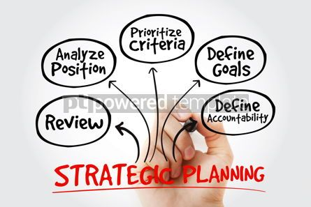Business: Strategic Planning mind map with marker business concept for pr #10592