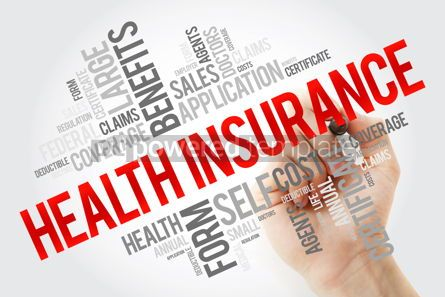 Education: Health Insurance word cloud collage with marker healthcare conc #10659