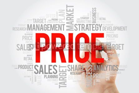 Business: PRICE word cloud collage with marker business concept backgroun #10721