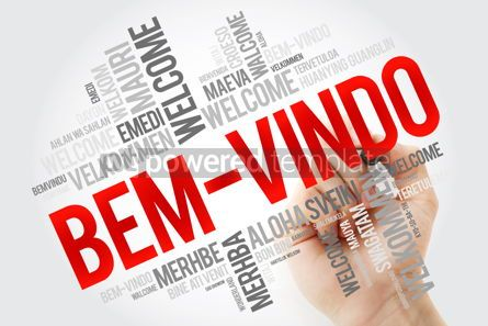 Business: Bem-Vindo (Welcome in Portuguese) word cloud with marker in diff #10887