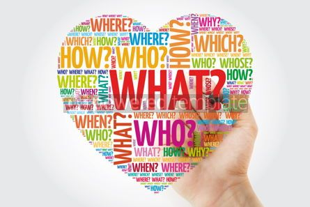 Business: Heart word cloud with questions whose answers are considered bas #10955