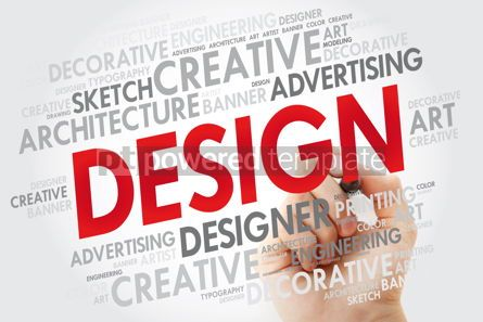 Business: Design word cloud with marker creative business concept #10966