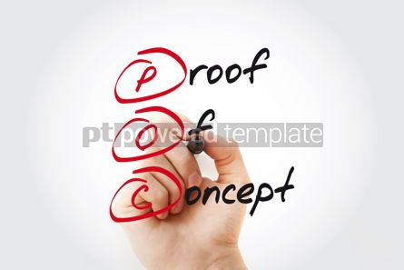 Business: POC - Proof of Concept with marker acronym business concept #11055