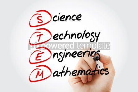 Business: STEM - Science Technology Engineering Mathematics acronym wit #11563