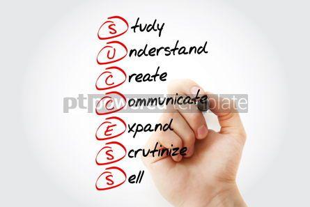 Business: Success - Study Understand Create Communicate Expand Scruti #11568