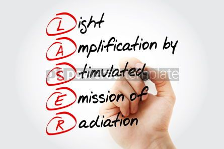 Education: LASER - Light Amplification by Stimulated Emission of Radiation  #11571