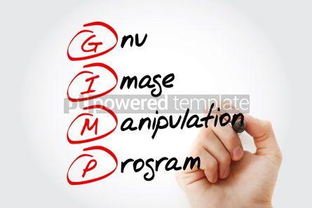Education: GIMP - Gnu Image Manipulation Program acronym concept backgroun #11578