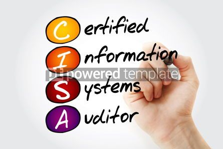 Business: CISA – Certified Information Systems Auditor acronym with mark #11669