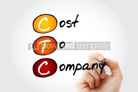 Business: CTC - Cost To Company acronym with marker business concept back #11683