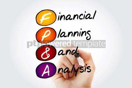 Business: FP&A - Financial Planning & Analysis acronym with marker busine #11709