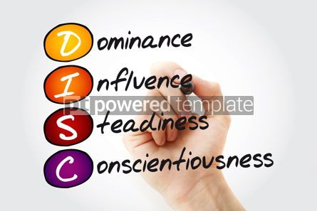 Business: DISC (Dominance Influence Steadiness Conscientiousness) acron #11844