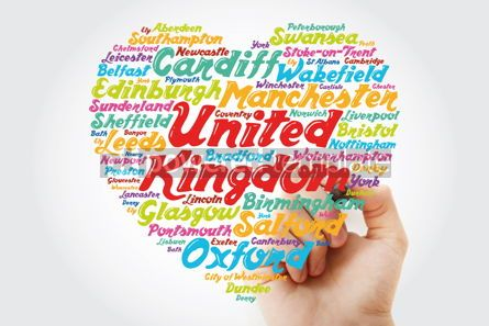 Business: List of cities and towns in the United Kingdom composed in love  #11905