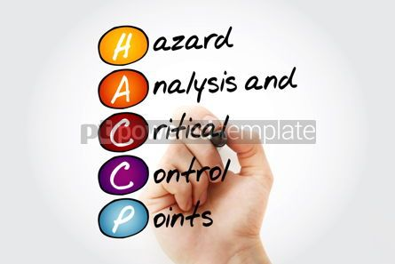 Business: HACCP - Hazard Analysis and Critical Control Points acronym with #11932