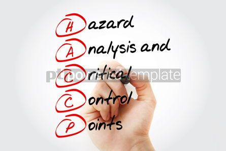 Business: HACCP - Hazard Analysis and Critical Control Points acronym with #11933