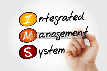 Business: IMS - Integrated Management System acronym with marker business #11945