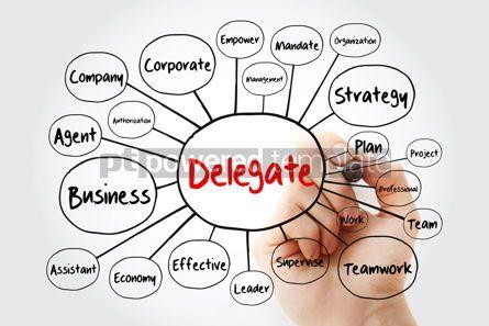 Business: Delegate mind map flowchart with marker business concept for pr #11948