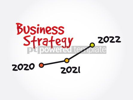 Business: 2020 - 2021 - 2022 Years Timeline of Business Strategy #12040