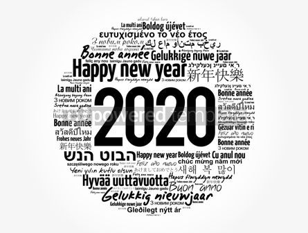 Business: 2020 Happy New Year in different languages #12043