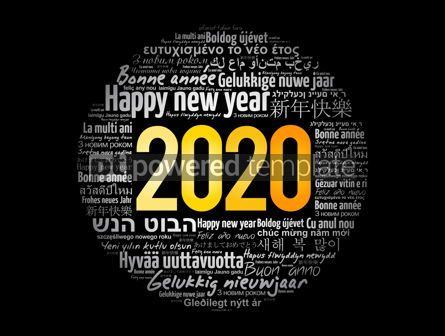 Business: 2020 Happy New Year in different languages #12044