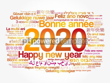 Business: 2020 Happy New Year in different languages #12063