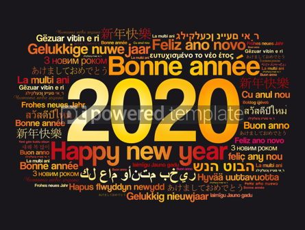 Business: 2020 Happy New Year in different languages #12064